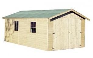 Garage en bois GAPADAN - 3