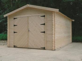 Garage en bois Hobby Atelier