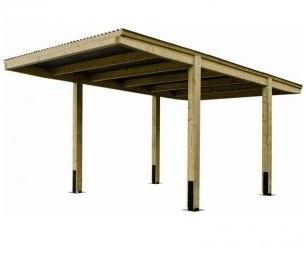 Carport en bois Designo Uno