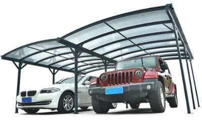 Carport double en aluminium