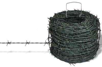 Rouleau de fil barbelé clôture