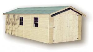 Garage en bois GAPALE - 3