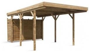 Carport en bois Etna Uno A