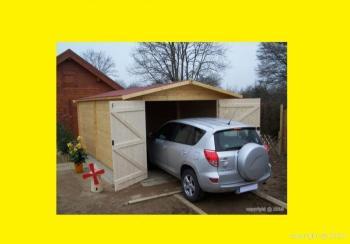 Garage en bois19m2 3 70 x