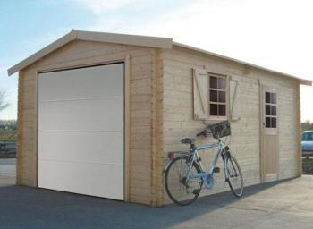 Garage en bois Solid 17 07m