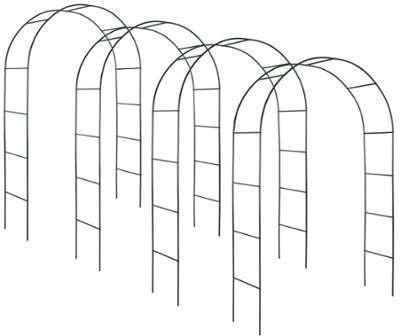 4 Arceau Arche de jardin Tuteur
