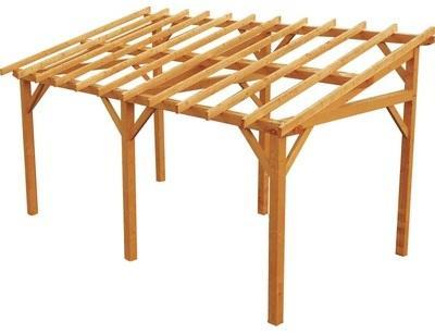 Carport en bois Vanoise non