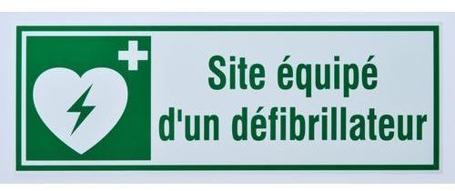 Panneau de signalisation Site