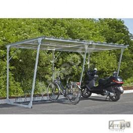 Abri Galvanisé Pour Vélos