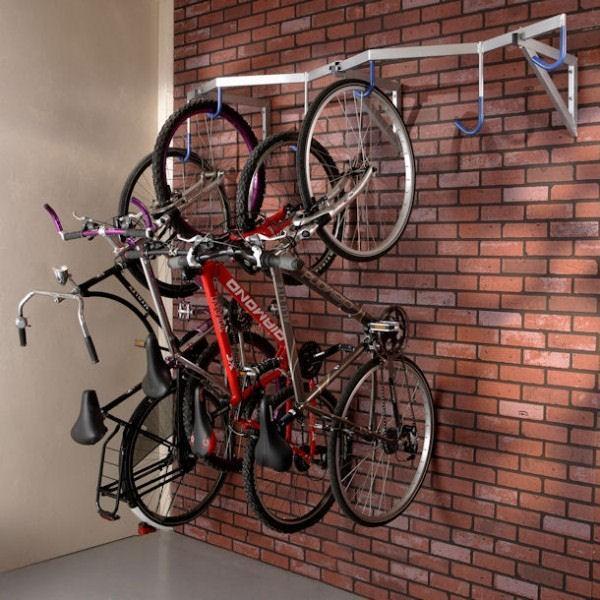 Râtelier mural pour vélos