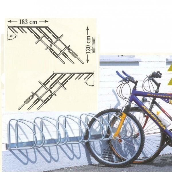 Râtelier mural à vélos
