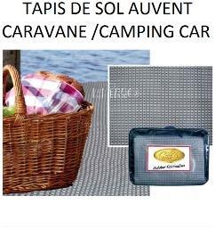 Tapis de sol auvent caravane