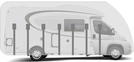 Housse pour camping-car profilé