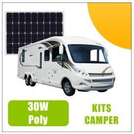 Kit panneau solaire 30W 12V