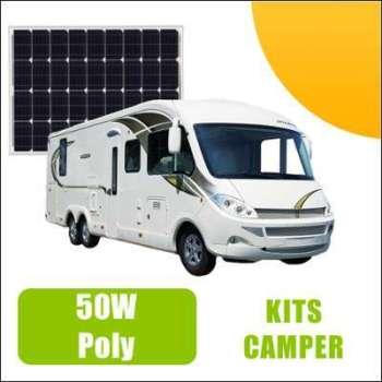 Kit panneau solaire 50W 12V