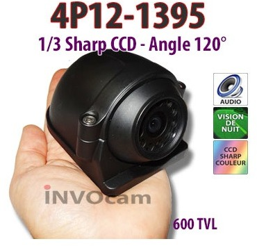 Caméra de recul haut de gamme