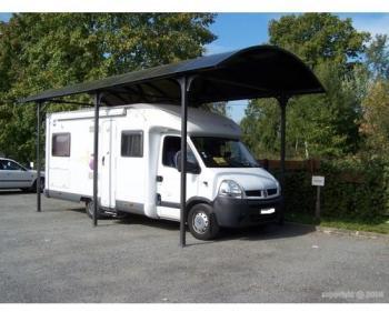 Carport camping car en aluminium