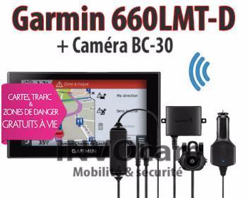 PACK Garmin Camper 660LMT-D
