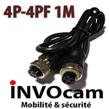 Câble adaptateur 4Pin femelle