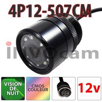 Mini caméra 12 Volts vision