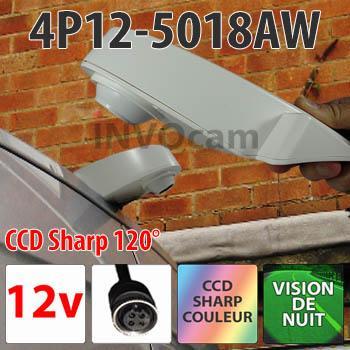 Caméra de recul spéciale toit