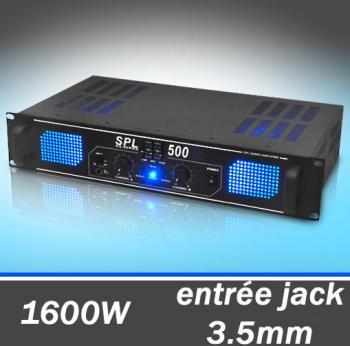 Skytec Ampli DJ PA Sono 2