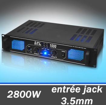 SPL1000 Ampli DJ PA Audio