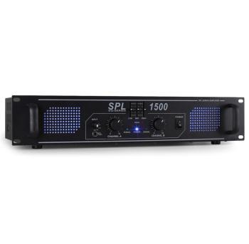 SPL-1500-EQ Ampli HiFi PA