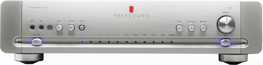 Parasound Halo P5 Argent