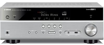 Yamaha MusicCast RX-V583 Silver