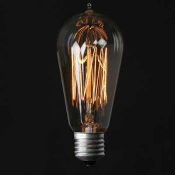 Ampoule Vintage EDISON 13-CLEAR