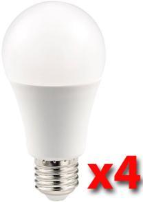 Pack de 4 ampoules LED 10