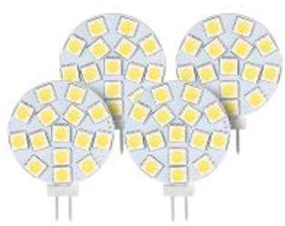 Lot de 4 ampoules LED SMD