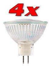 4 Ampoules 39 LED SMD GU5