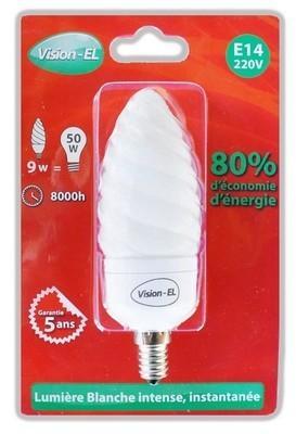 Ampoule fluo compacte 9W (50W)