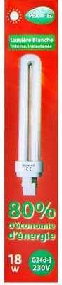 Fluo compacte 18W 100W) G24D-3