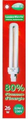 Fluo compacte 26W (150W) G24D-3