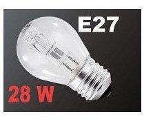 Ampoule halogène E27 28 W