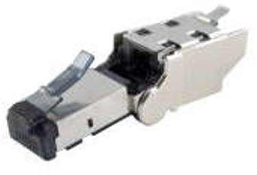 CAE - Plug angulé RJ45 Blindé