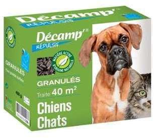 Répulsif chiens chats granulés