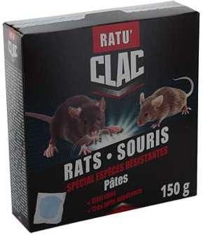RATU CLAC Pâte Souris - Rats