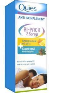 Quies anti-ronflement Bi-Pack