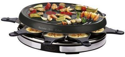 Raclette Gril Crêpier Inox