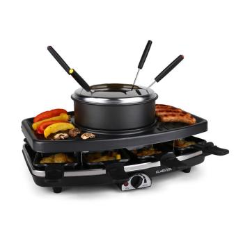 Entrecote grill raclette fondue