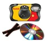 1 Appareil photo jetable Kodak