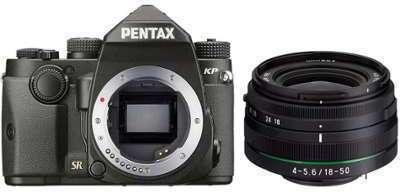 PENTAX KP 18-50mm RE Noir