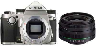 PENTAX KP 18-50mm RE Silver