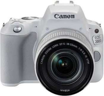 CANON Eos 200D Blanc 18-55mm