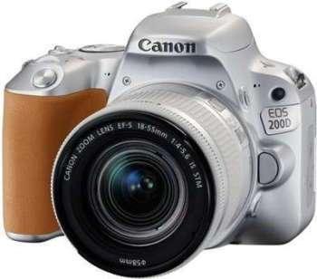 CANON Eos 200D Silver 18-55mm
