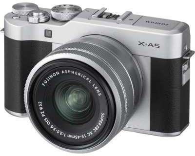 FUJI X-A5 Silver 15-45mm PZ